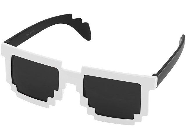 Очки Pixel, черный/белый