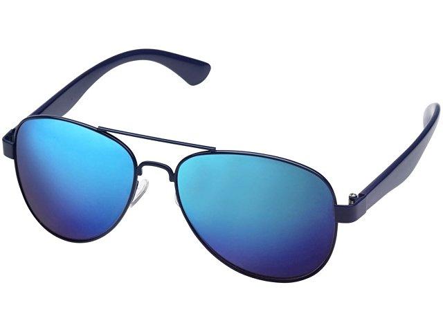 Зеркальные солнцезащитные очки Vesica, синий