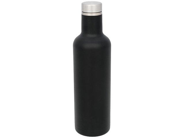 Pinto медная вакуумная изолированная бутылка, черный