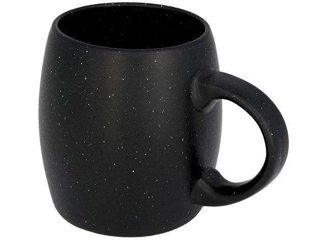 Керамическая кружка Stone, черный