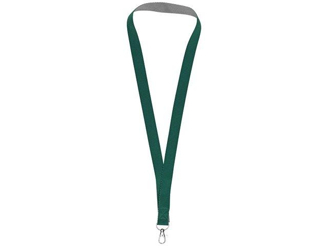 Двухцветный шнурок Aru с застежкой на липучке, зеленый/серый