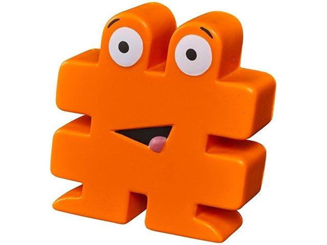 Антистресс HashTag, оранжевый