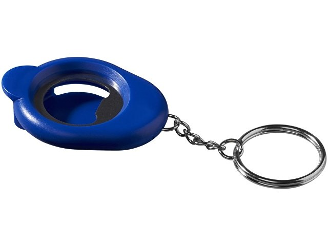 Брелок-открывалка, ярко-синий