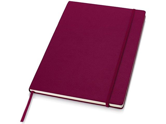 Классический деловой блокнот А4, бордовый