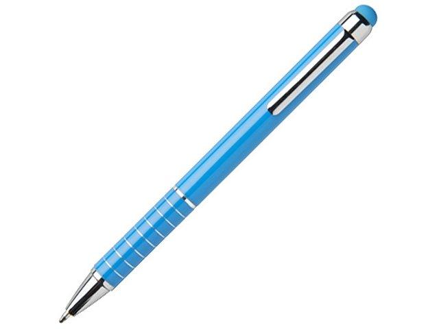 Алюминиевая глазурованная шариковая ручка, синий