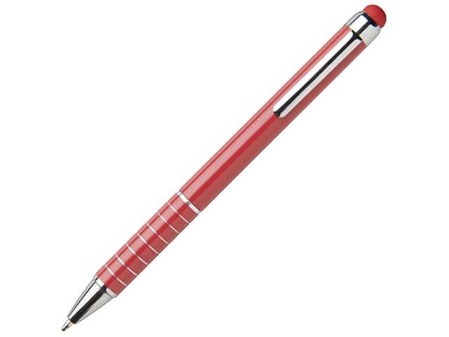 Алюминиевая глазурованная шариковая ручка, красный