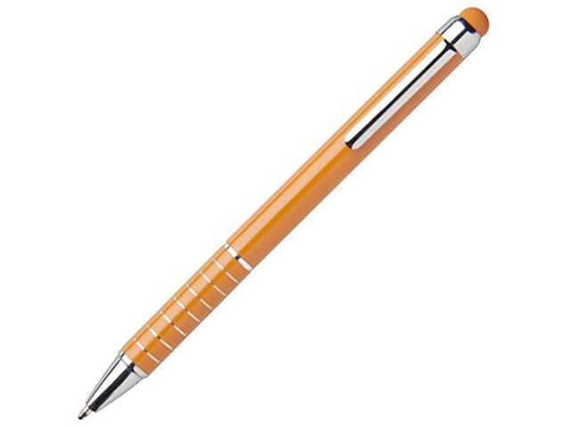 Алюминиевая глазурованная шариковая ручка, оранжевый