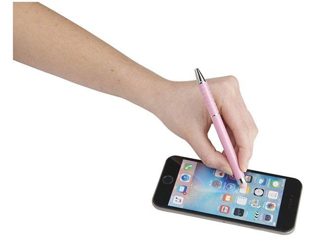 Алюминиевая глазурованная шариковая ручка, розовый