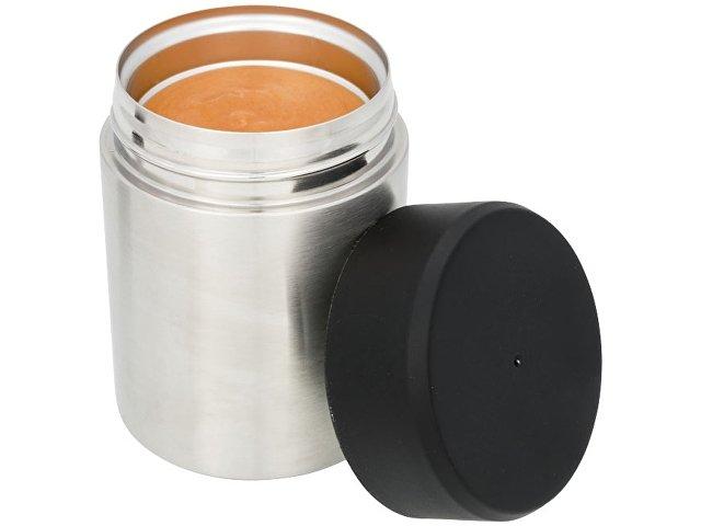 Пищевой контейнер «Food», серебристый/черный