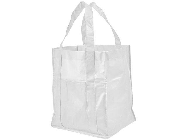 Ламинированная сумка для покупок, белый
