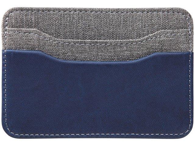 Картхолдер «Heathered», синий