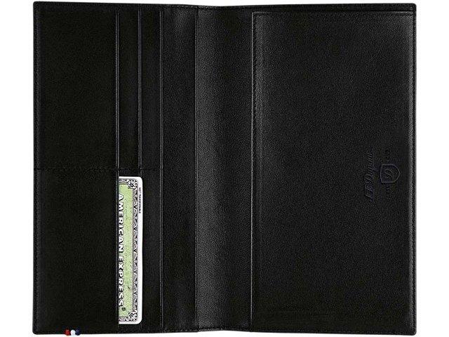 Обложка для паспорта Elysee. S.T. Dupont, черный