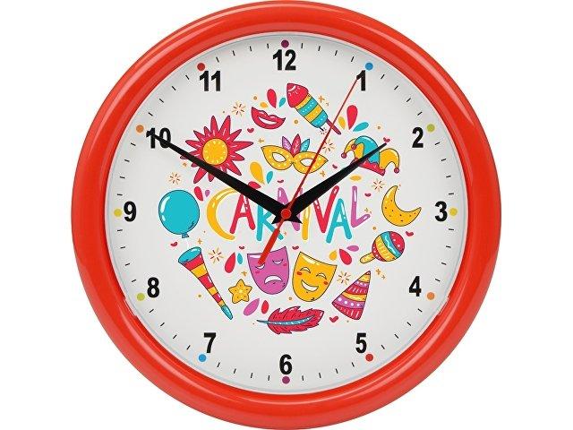 Часы настенные разборные «Idea», красный