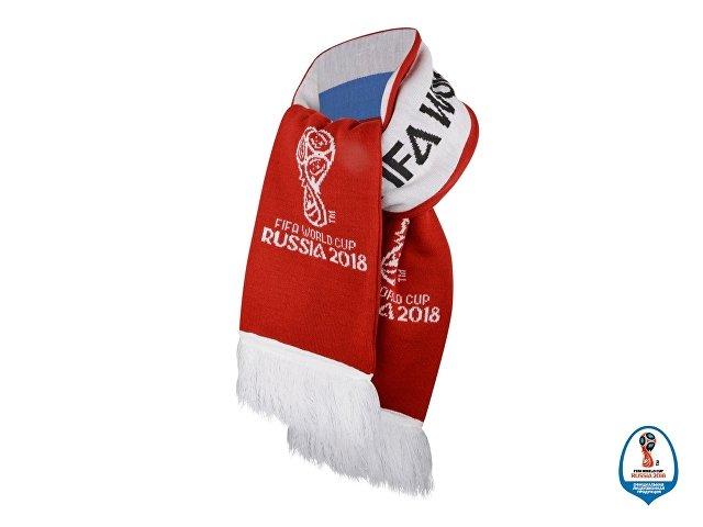 Шарф Россия вязаный 2018 FIFA World Cup Russia™