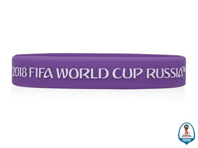Браслет 2018 FIFA World Cup Russia™, фиолетовый