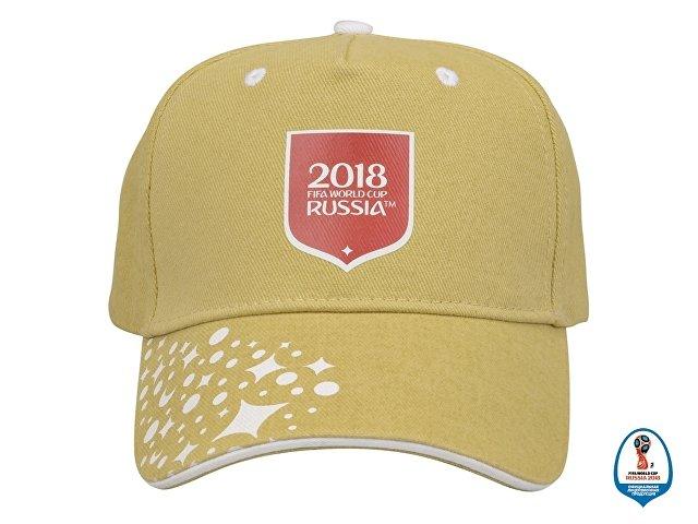 Бейсболка 2018 FIFA World Cup Russia™, песочный/белый