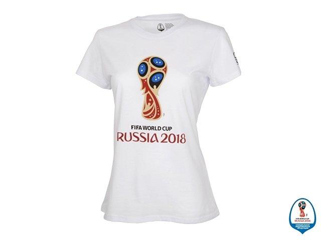 Футболка женская 2018 FIFA World Cup Russia™, белый