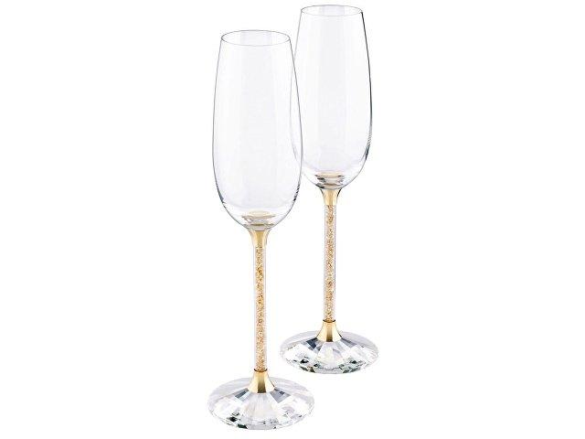Бокалы для шампанского Crystalline (набор из 2 шт.). Swarovski