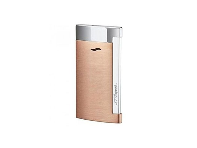 Зажигалка Slim7. S.T.Dupont, медный/золотистый