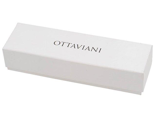 Ручка роллер Ottaviani, черный/серебристый