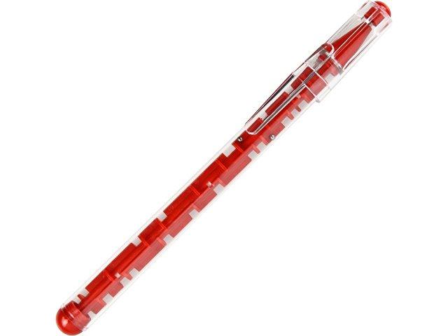 Ручка шариковая «Лабиринт» с головоломкой красная