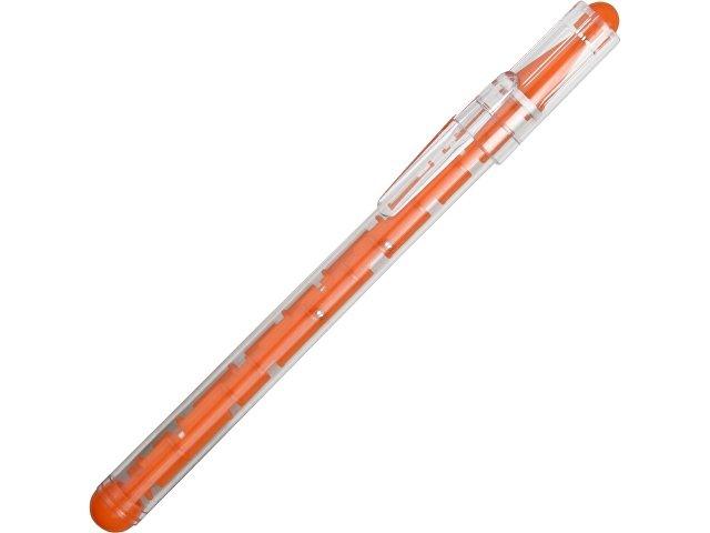 Ручка шариковая «Лабиринт», оранжевый