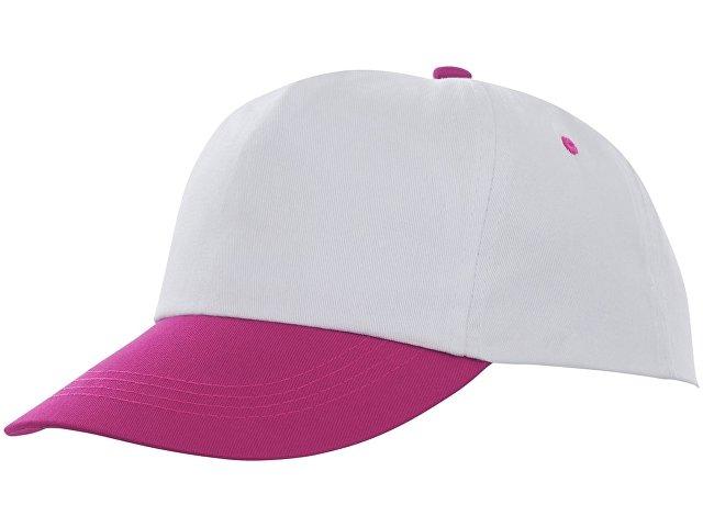 Пятипанельная двухцветная кепка Icarus, белый/розовый