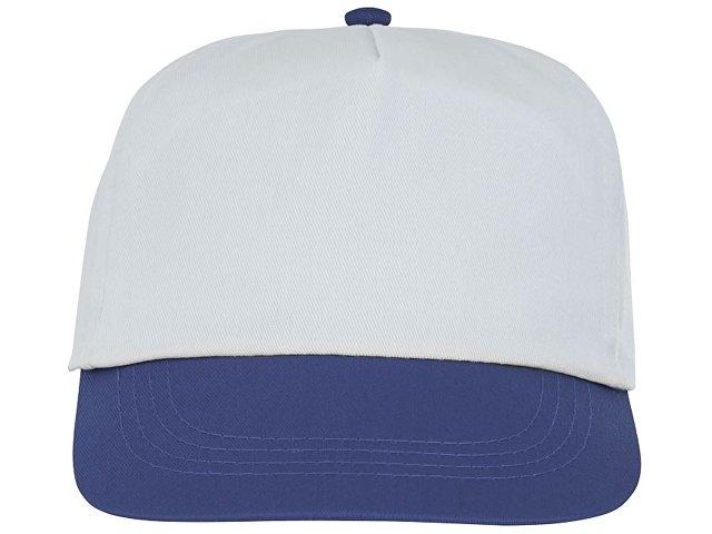 Пятипанельная двухцветная кепка Icarus, белый/синий