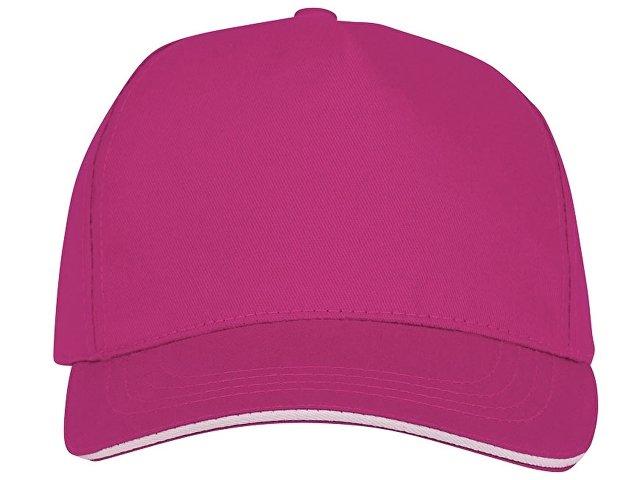 Пятипанельная кепка-сендвич Ceto, розовый