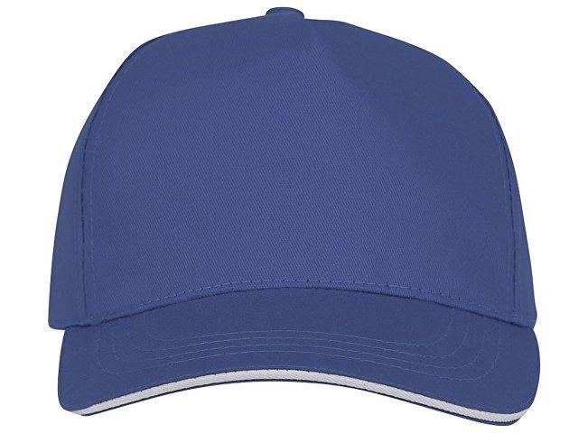 Пятипанельная кепка-сендвич Ceto, синий