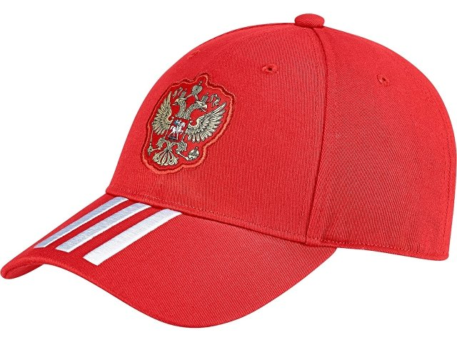 Кепка детская РОССИЯ 3-STRIPE. adidas, красный/белый