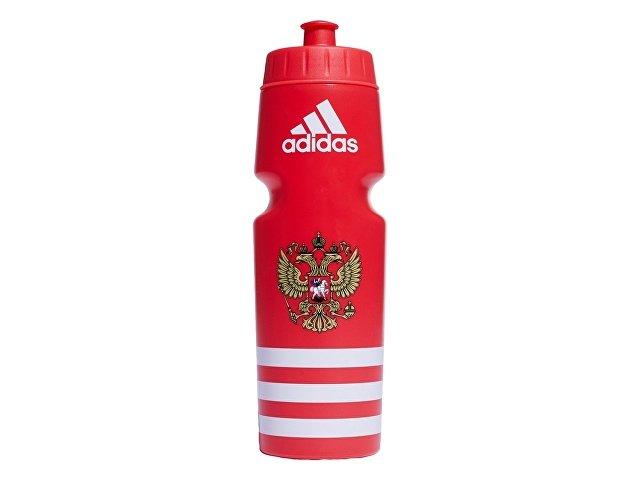 Спортивная бутылка РОССИЯ 750мл. adidas, красный/белый