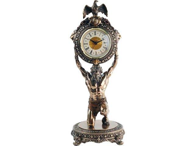 Интерьерные часы «Мировое время», бронзовый