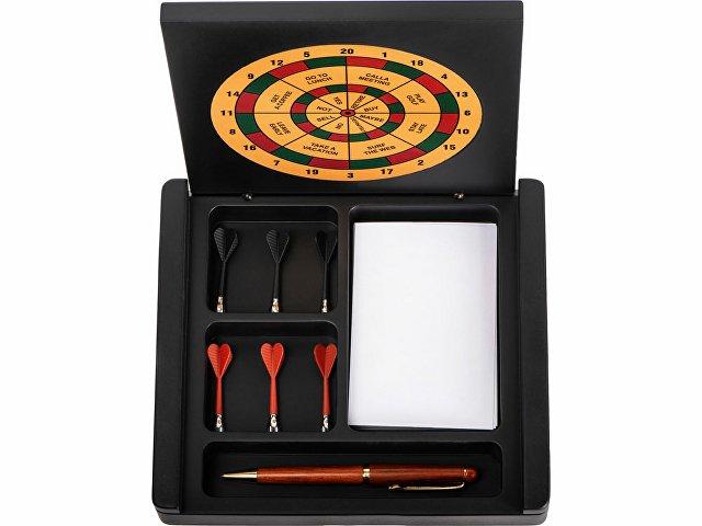 Настольный прибор «Выбор», коричневый