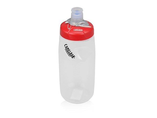 Бутылка CamelBak Custom Print Podium 0,61л, красный/белый прозрачный