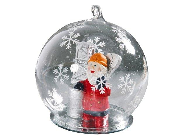 """Новогодний шар с Дедом Морозом """"Нефтяной магнат"""""""