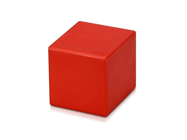 Антистресс «Куб», красный