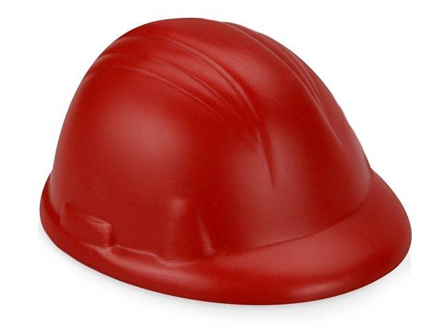 Антистресс «Каска», красный