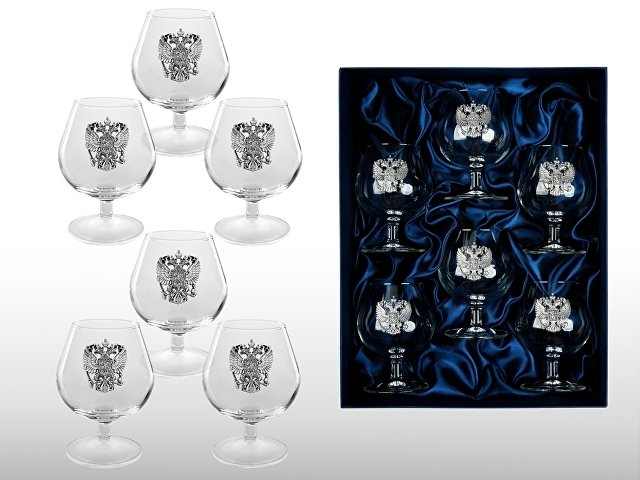 Набор бокалов для коньяка «Державный»