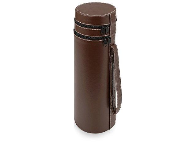 Тубус для вина «Божоле», коричневый