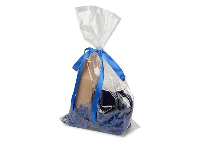 Подарочныйнабор«Mattina» с кофе,синий