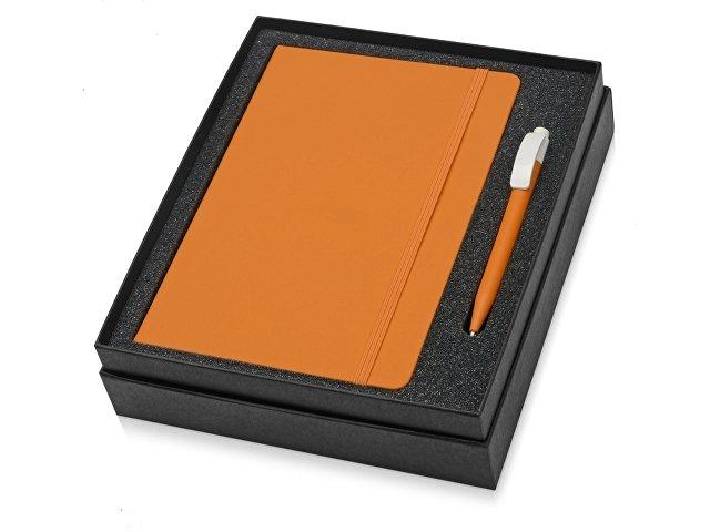 Набор Uma Vision с ручкой и блокнотом А5, оранжевый
