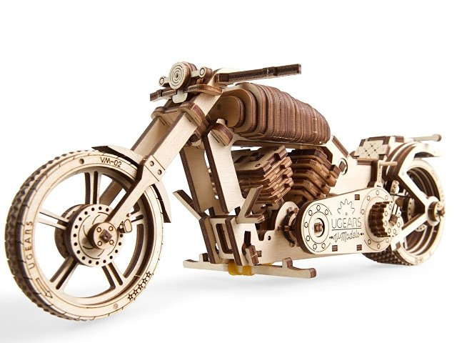3D-ПАЗЛ UGEARS «Байк VM-02»