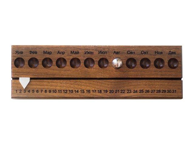 Вечный календарь. booratino, темно-коричневый