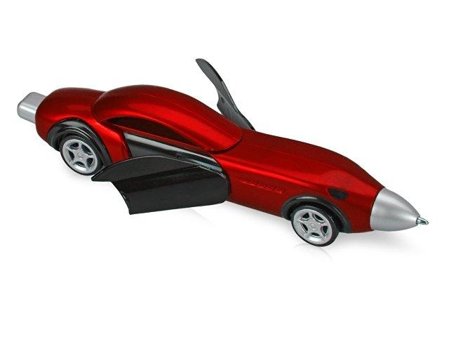 Ручка шариковая «Сан-Марино» в форме автомобиля с открывающимися дверями и инерционным механизмом движения, красная