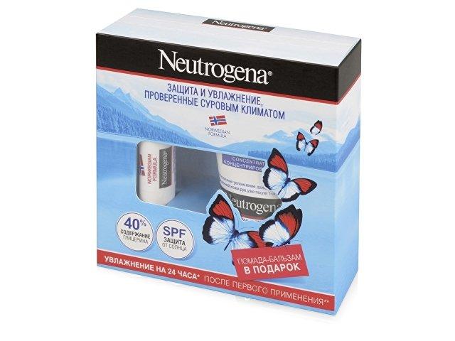 Набор Neutrogena «Норвежская формула»: крем для рук 50мл, бальзам-помада 4,8г. J&J