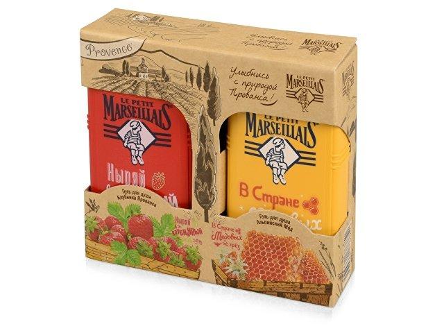 Набор Le Petit Marseillais «Клубника Прованса&Альпийский мед»: гель д/душа 2х250мл. J&J