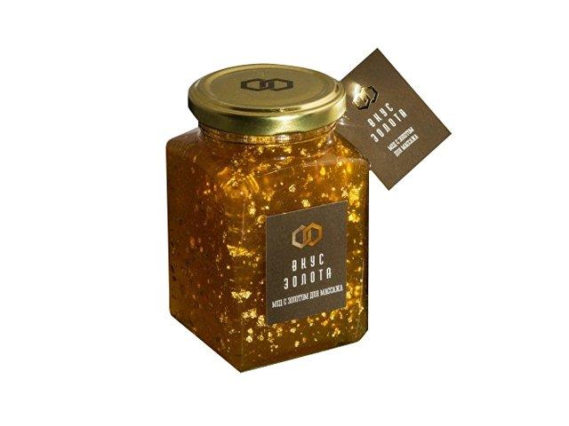 Мёд с золотом для массажа, золотистый