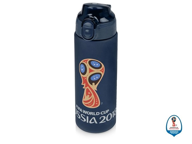 Бутылка 2018 FIFA World Cup Russia™, 0,6 л., темно-синий