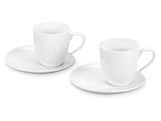 Набор: 2 чашки на 200 мл с блюдцами